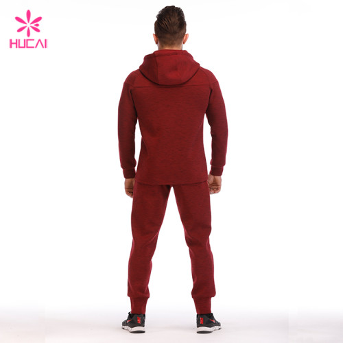 Wholesale Supplier Cotton Polyester Custom Hoody Sweatsuit For Men Manufacturer