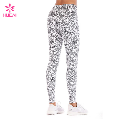 China Online Best Place to Buy High Waist Sublimation Printed Control High Tights For Women