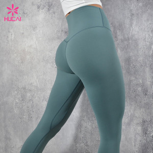 China Clothing Manufacturer High Waisted Leggings Wholesale Women Activewear Supplier