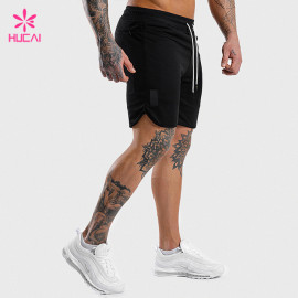 Custom Cotton Polyester Men Tapered Wholesale Sweat Shorts Manufacturer
