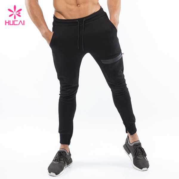 Wholesale Athletic Pants Tapered Men Best Cotton Fleece Jogger Sweatpants