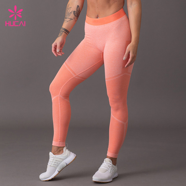 China Wholesale Supplier Dry Fit Women Leggings Seamless Yoga Pants Manufacturer