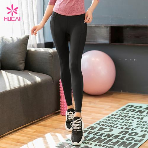 Wholesale Manufacturer Nylon Spandex Women Custom Yoga Leggings Supplier
