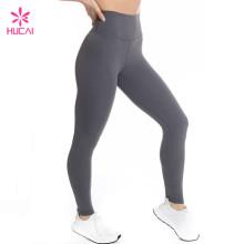 China Bulk Wholesale Nylon Spandex Women Custom Leggings Manufacturer