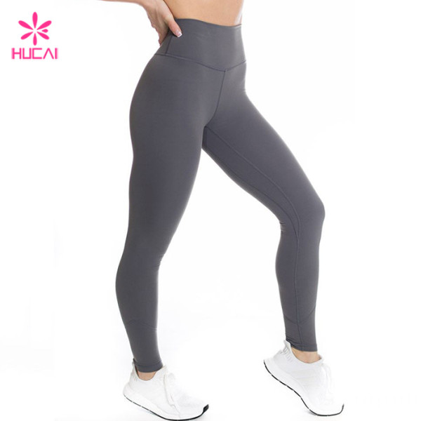 China Bulk Wholesale Nylon Spandex Women Custom Leggings Manufacturer