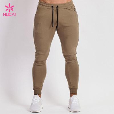 China Manufacturer Fleece Cotton Tapered Skinny Wholesale Jogger Pants Men In Bulk