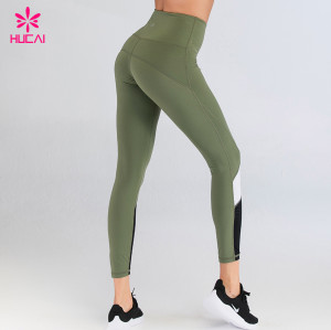 Private Label Fitness Wear Yoga Clothing Manufacturer Wholesale High Waisted Workout Sports Leggings