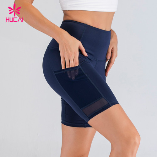 Wholesale Private Label Fitness Apparel Bodybuilding Bulk Sports Running Shorts With Pockets