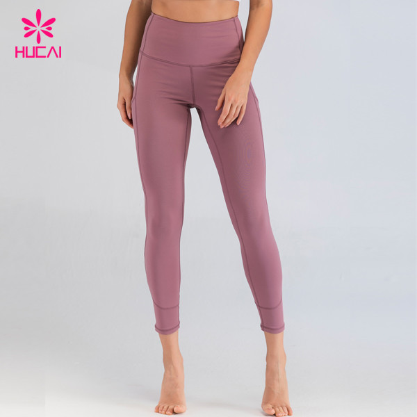 Wholesale Private Label Tummy Control Yoga Leggings