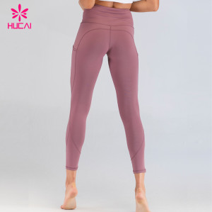 Wholesale Fitness Apparel Manufacturers Private Label Yoga Running Pants Bodybuilding Gym Leggings