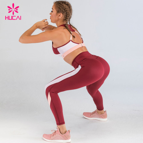 China Wholesale Running Sports Apparel Private Label Gym Clothes Yoga Wear 2 Piece Set