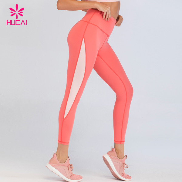 Wholesale Workout Clothes High Waist Women Custom Made Yoga Pants Legging With Logo