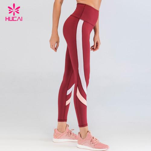 China Wholesale Sports Clothing Women Custom Print Yoga Pants Private Label Workout Legging