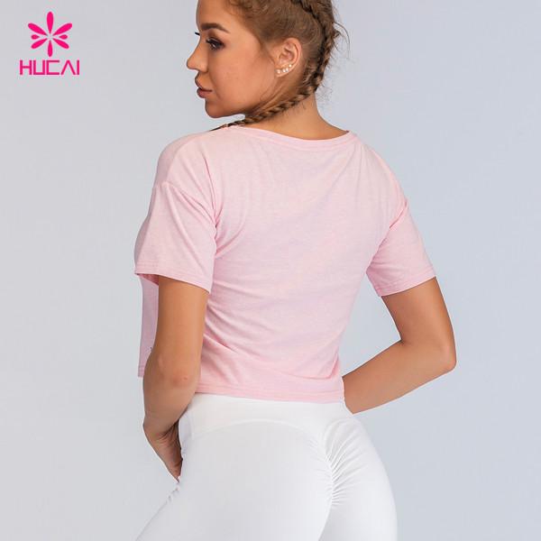 Workout Gym Womens Crop T Shirts
