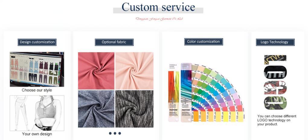 Hucai Sportswear Custom Service