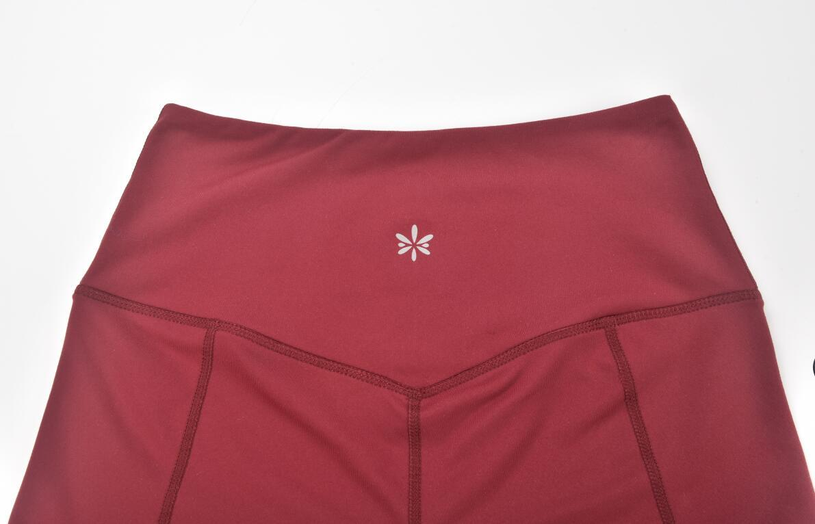 Women Gym Shorts Back Detail