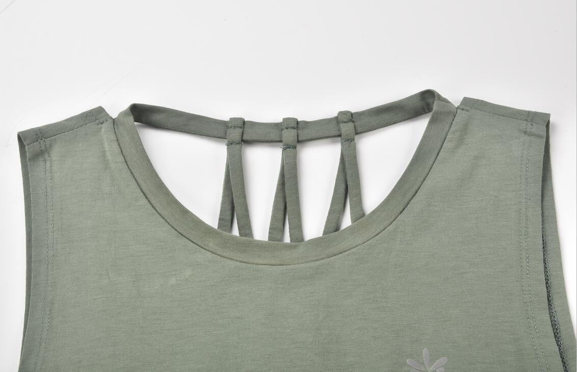 Tank Top Front Round Neck Detail