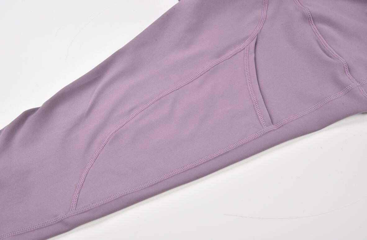 Hucai Private Label Yoga Pants Pocket Detail