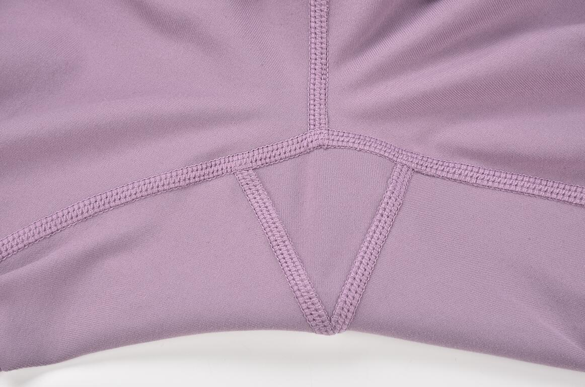 High Quality Fitness Leggings Triangle Crotch Detail