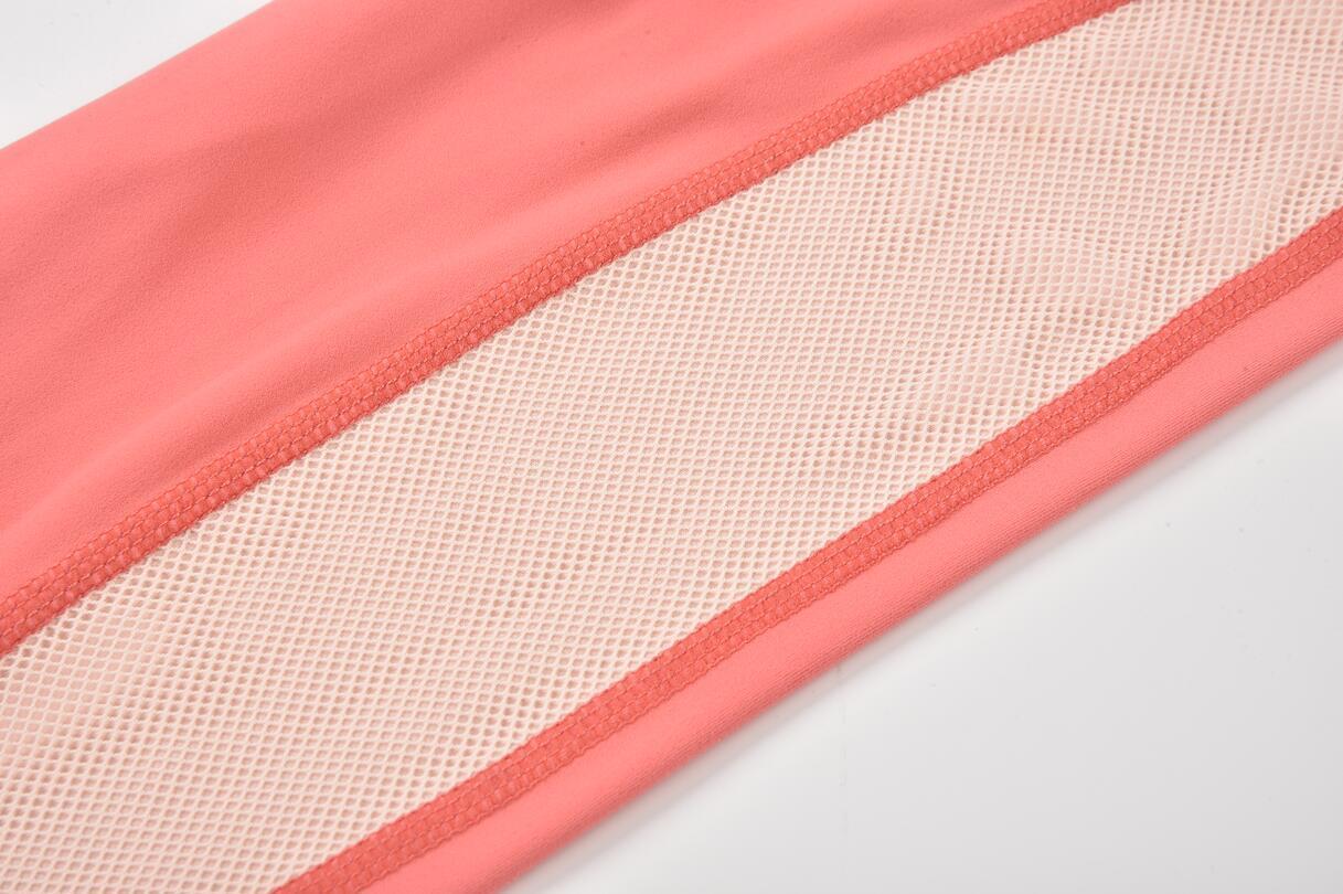 Custom Yoga Pants Color Collision Detail