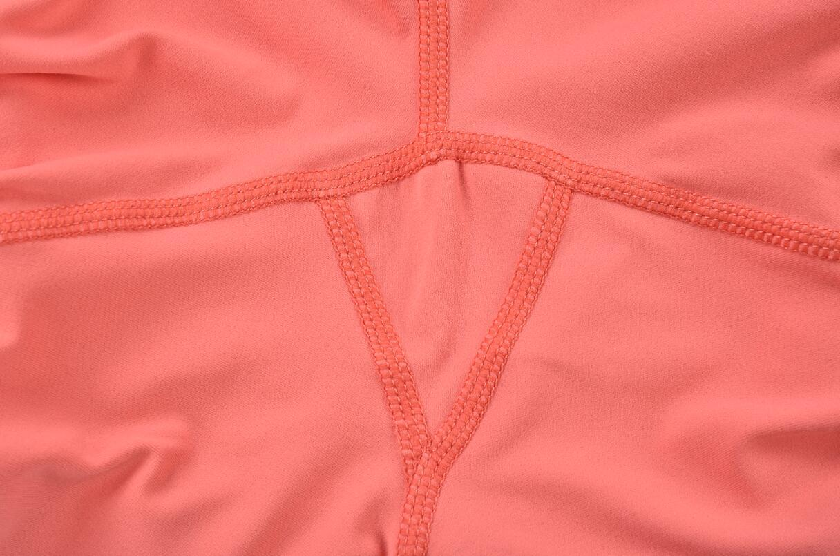 Tummy Control Workout Leggings Triangle Crotch Detail
