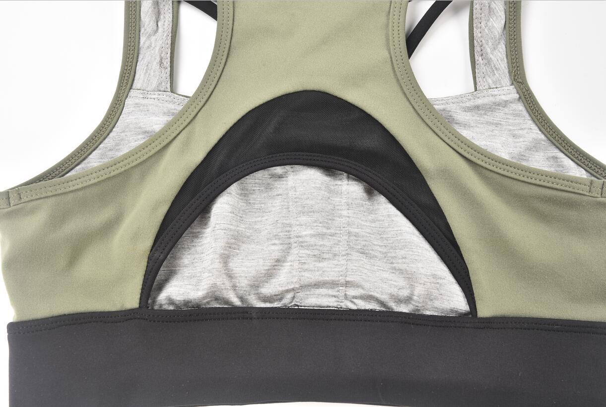 Hucai Wholesale Sports Bra Back Detail