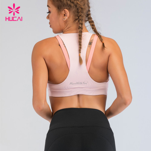 Private Label Yoga Wear China Manufacturer Wholesale Womens High Impact Sports Bra Fitness