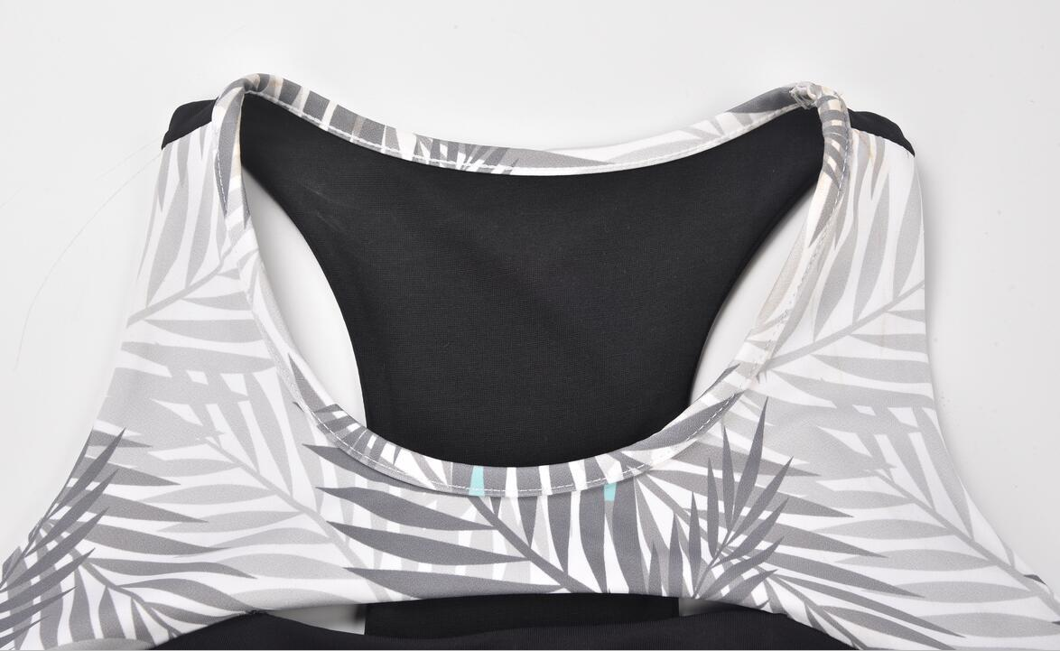 high qualitry sublimation printed sports bras detail