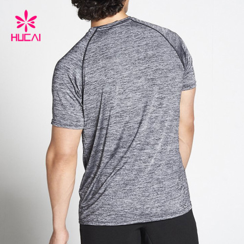 Custom Wholesale Fitness T Shirts For Men-China Gym Wear Supplier