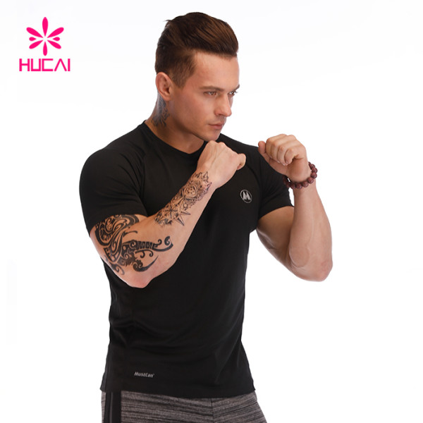 China Wholesale Black Sport T Shirt Manufacturer-Custom Serive T Shirt Supplier