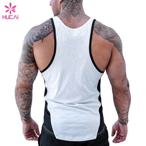 Mens Wholesale Stringer Tank Top Gym-China Private Label Clothing Manufacturer