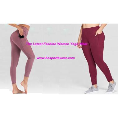 The Latest Fahion Women Yoga Wear