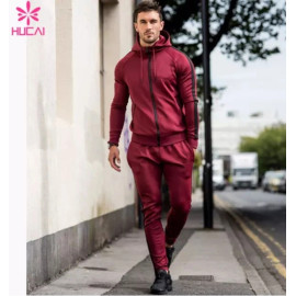 Wholesale Men Track Sport Sweat Suit-China Sportswear Manufacturer