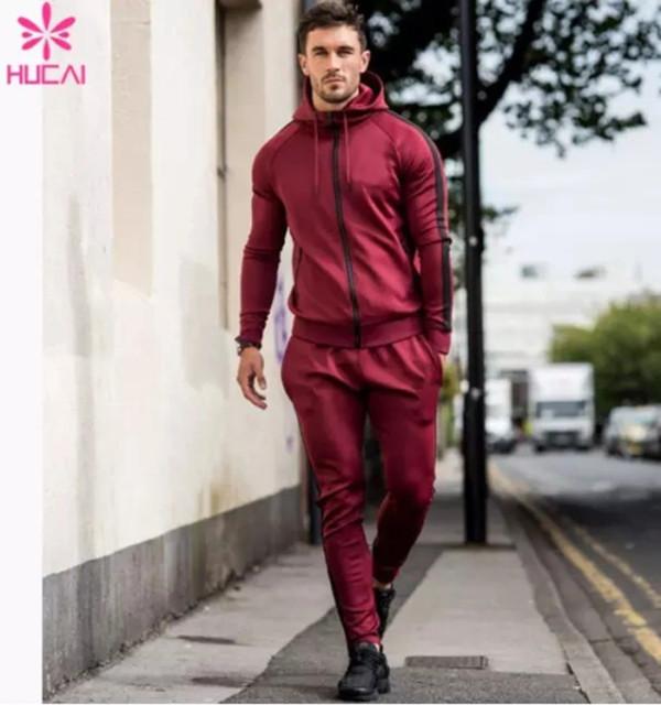Wholesale Men Track Sport Sweat Suit-China Sportswear Manufacturer