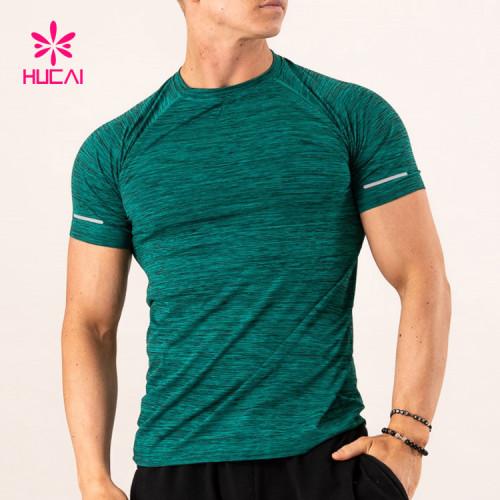 China Custom Workout T Shirts-Gym Wear Manufacturer