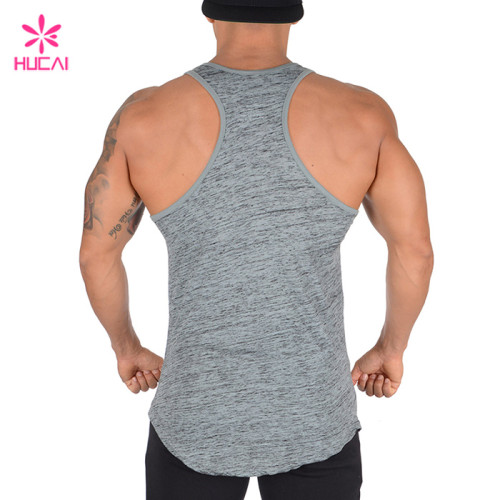 Wholesale Factory Men Sport Tank Top-Custom Gym Wear Manufacturer