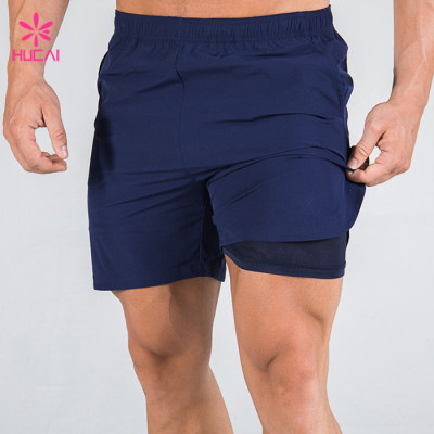 Bulk Sale Custom Mens Dry Fit Running Shorts-Design Your Own Sportswear