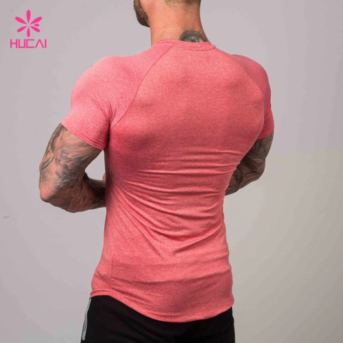 Wholesale Polyester Spandex Mens Gym Apparel-Custom Your Own Brand Clothing