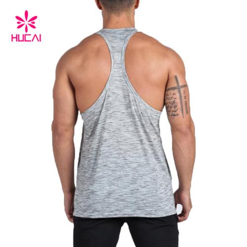 Wholesale Tank Top Slim Fit Men Sport Singlet-Gym Wear Manufacturer