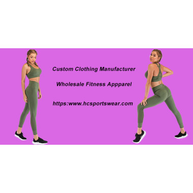 Latest China Wholesale Fitness Apparel-Hucai Sportswear