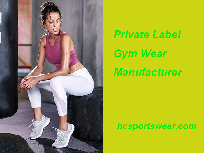 private label gym wear manufacturer
