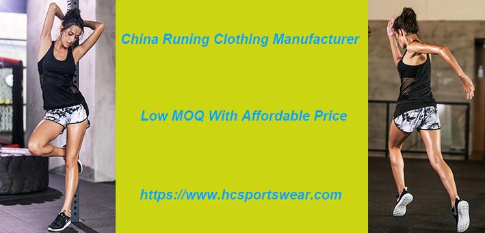 running clothing manufacturer
