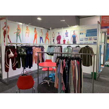 Hucai Sportswear At China Clothing Textile Accessories EXPO 2019