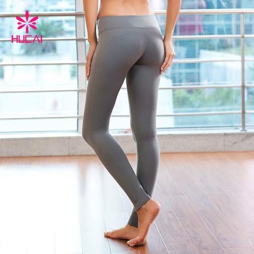 China Wholesale Supplier Dry Fit Women Leggings Yoga Pants Manufacturer
