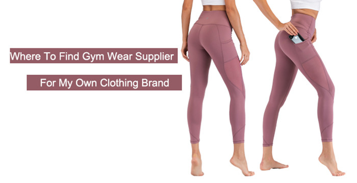 where to find gym wear manufacturer