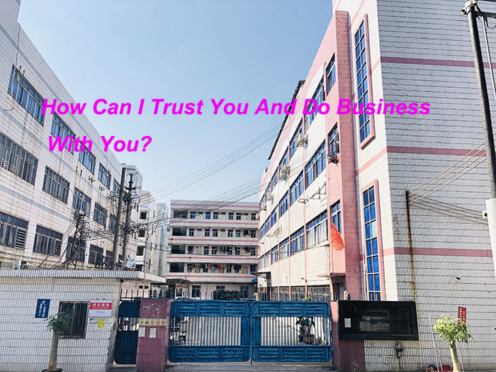 How Can I Trust You And Do Business With You?