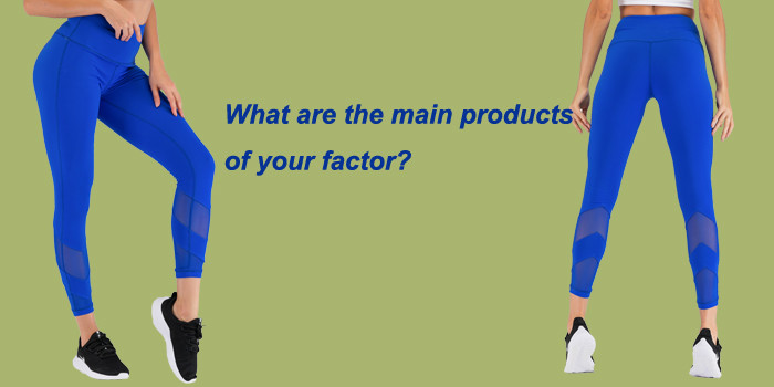 What Are The Main Products Of Your Factory?
