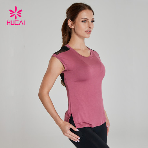 China Wholesale Women Fitness T Shirts Manufacturer-Custom Service Supplier