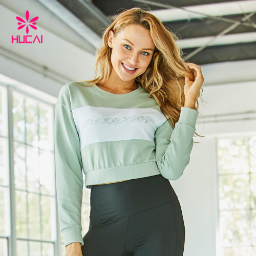 China Custom Women Crop Sweatshirts Manufacturer-Custom Service