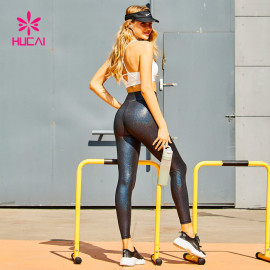 Wholesale Shiny Faux Leather Yoga Pants Manufacturer-Private Label Service